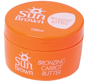 Sun Brown Carrot Butter