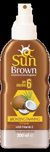 Sun Brown Coconut Spf 6
