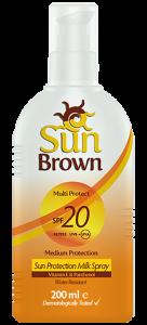 Sun Brown Protection Milk Spf 20