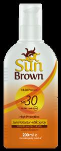 Sun Brown Protection Milk Spf 30