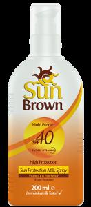Sun Brown Protection Milk Spf 40